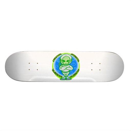 Alien-Feier Skate Board