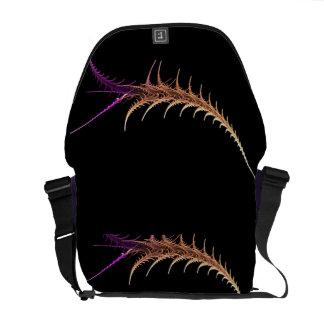 Alien-Fraktal Kurier Taschen