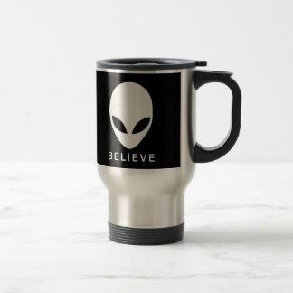 Alien glauben reisebecher