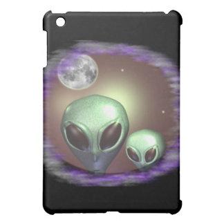 Alien-Grau-Einzelteile iPad Mini Hülle