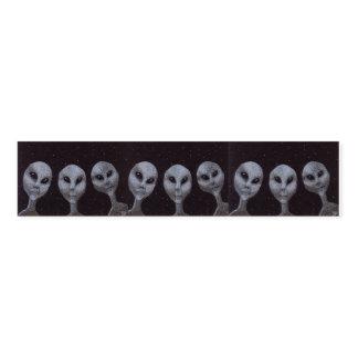 Alien-Grau Serviettenband