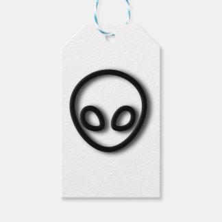 Alien-grauer Entwurf Geschenkanhänger