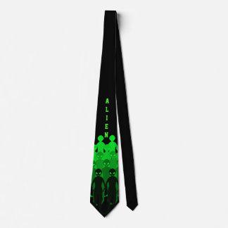 Alien-Hals-Krawatte Krawatte