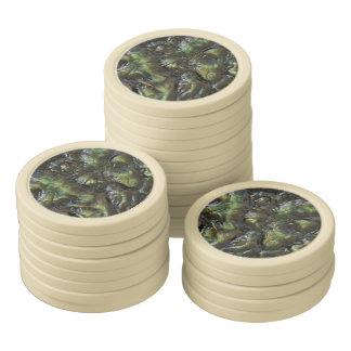 Alien-Haut-Poker-Chips Poker Chip Set