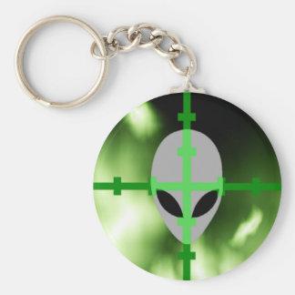 Alien-Jäger Schlüsselanhänger