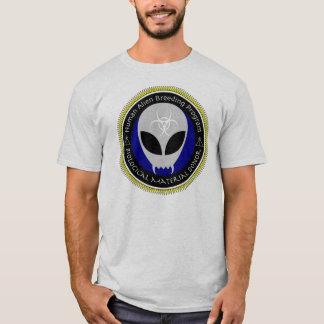 Alien-menschliches züchtendes T-Shirt