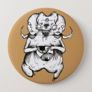 Alien Runder Button 10,2 Cm