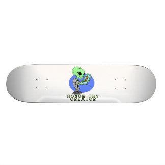 Alien-Schöpfer 21,6 Cm Skateboard Deck