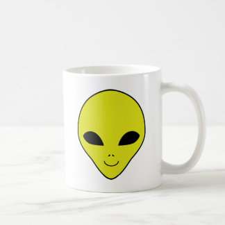 Alien-Smiley Kaffeetasse