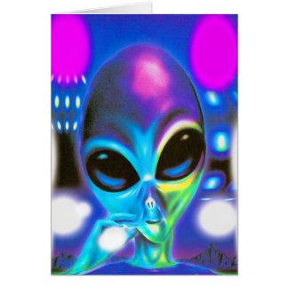 Alien-Treffen Karte