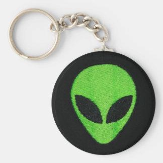 Aliengesicht keychain schlüsselanhänger