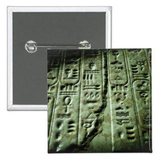 AlienGlyphs 03 Quadratischer Button 5,1 Cm