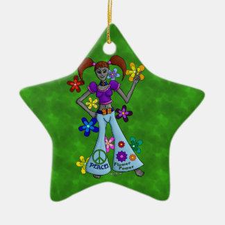 AlienHippy Keramik Ornament