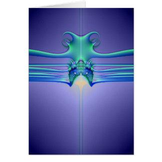 AlienStingray Grußkarte