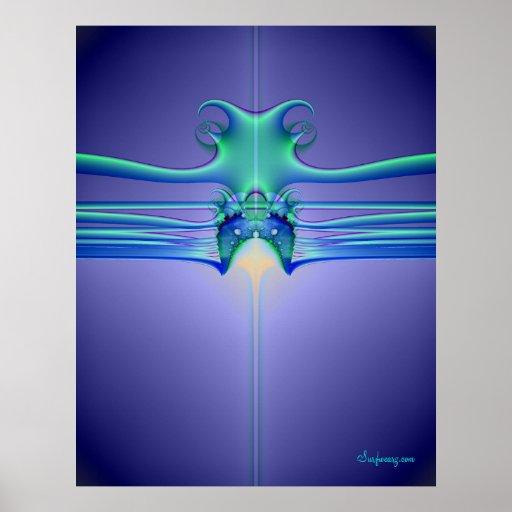 AlienStingray Poster