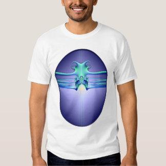 Alienstingray-Shirt Hemden