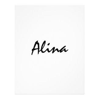 Alina mit keltischer Bedeutung Flyers