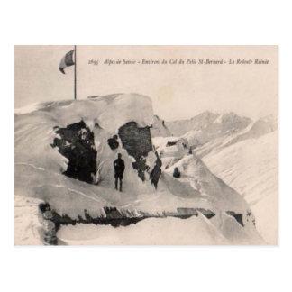 Alingsas, Frankreich, Col.de kleiner Bernhardiner, Postkarte