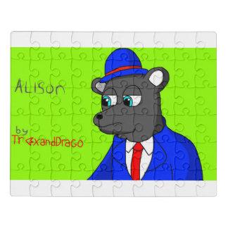 Alison das Bärn-Puzzlespiel Puzzle