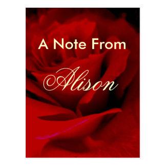 Alison Postkarte
