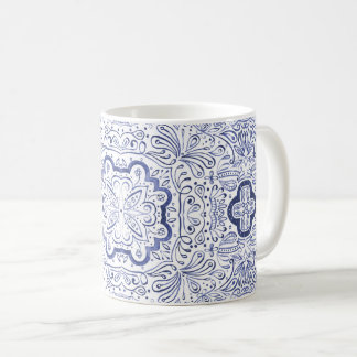 Alivia Wasserfarbe-Muster-Tasse Kaffeetasse