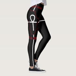 ALKEBULAN - ANKH IST ein SCHLÜSSEL (nur Schwarzes) Leggings