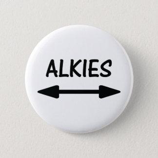 alkies Ikone Runder Button 5,1 Cm