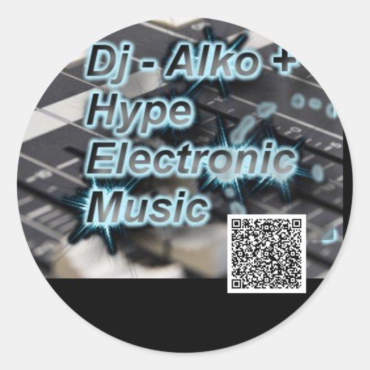 Alko+Hype- Aufkleber