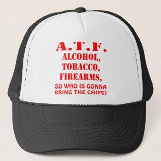 Alkohol, Tabak-Feuerwaffen also, wer holen wird Truckerkappe