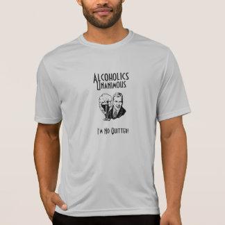 Alkoholiker-einstimmiger Sport T T-Shirt