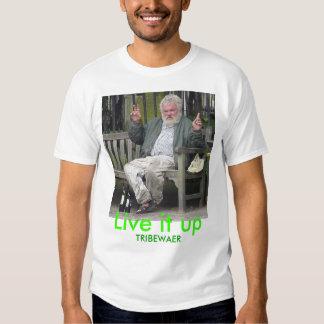 Alkoholiker, leben es oben, TRIBEWAER T Shirt