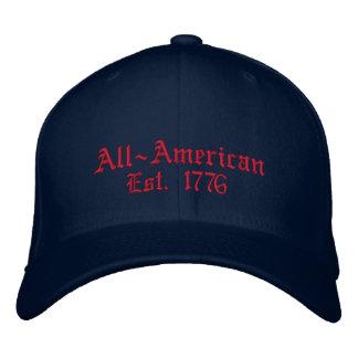 All-Amerikanisch, Est. 1776 Bestickte Baseballcaps