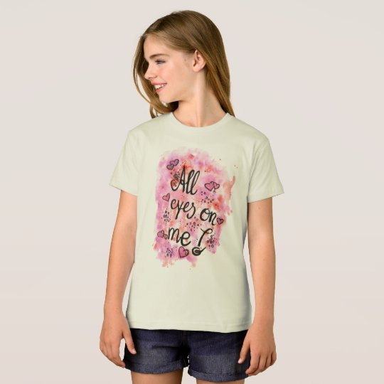 All eyes on me Kindershirt BIO T-Shirt