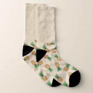 All-Over-Print Socks, Ananas Socken