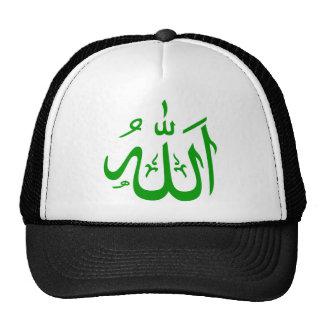 Allah auf Arabisch Netz Caps