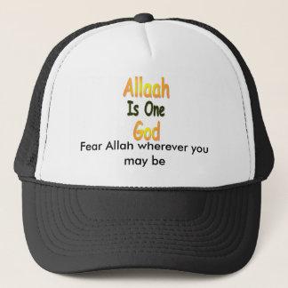 Allah_is_One_God, Furcht Allah, wohin Sie sein Truckerkappe