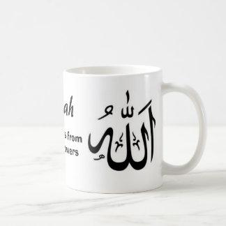 Allah schützen uns fromyour Nachfolger Kaffeetasse