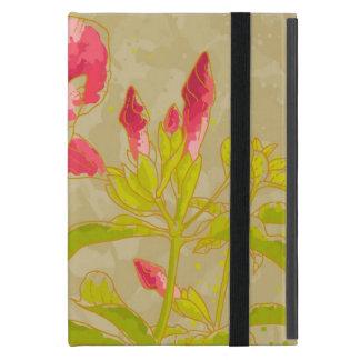 Allamanda-Blume auf getontem Hintergrund iPad Mini Etui