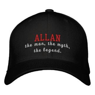 Allan der Mann, der Mythos, die Legende Bestickte Baseballkappe