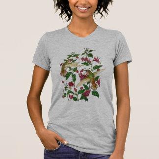 Allans Kolibri und Fuschia T-Shirt