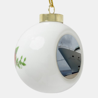 Alle an Bord Keramik Kugel-Ornament