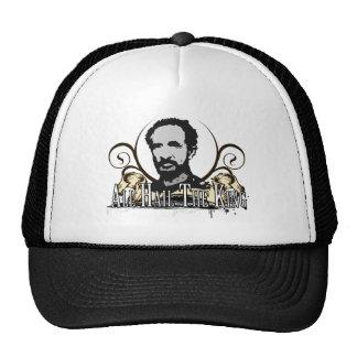 """""""Alle begrüßen den König """" Baseball Cap"""