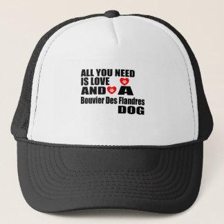 Alle benötigen Sie Entwurf Liebe Bouvier DES Truckerkappe