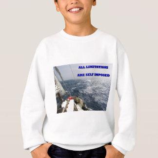 Alle Beschränkungen sind Selfimposed. Sweatshirt