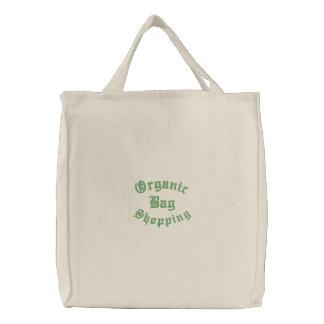 Alle Bio Einkaufstasche Bestickte Einkaufstaschen