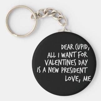 Alle, die ich für Valentinstag will Schlüsselanhänger