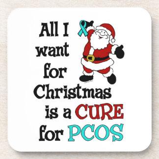 Alle, die ich für Weihnachten… PCOS will Cocktail Untersetzer