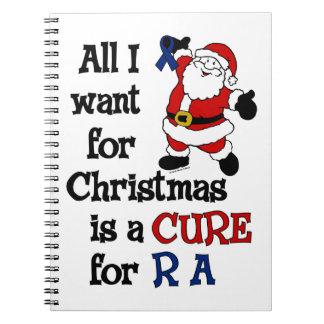 Alle, die ich für Weihnachten… RA will Notizblock