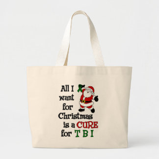 Alle, die ich für Weihnachten… TBI will Jumbo Stoffbeutel