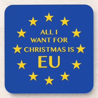 Alle, die ich für Weihnachten will, ist EU Untersetzer